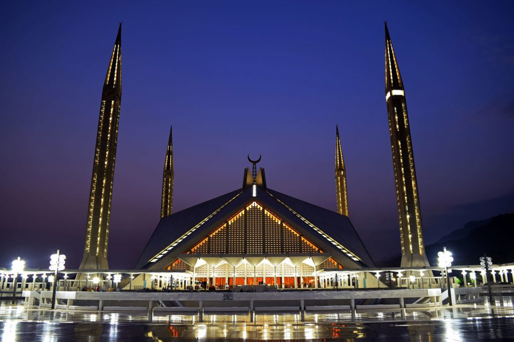 Faisal Mosque, Islamabad. — Photo by Ali Mujtaba