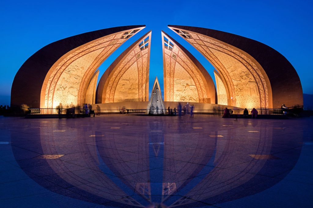 Pakistan Monument, Islamabad. — Photo by Muhammad Ashar