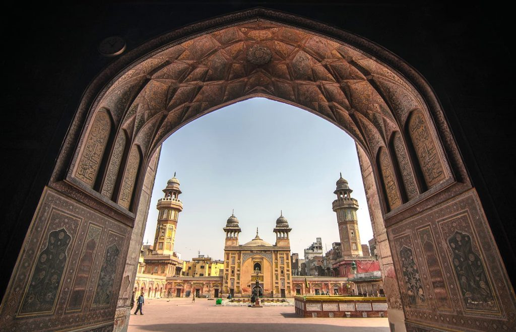 Wazir Khan Mosque, Lahore. — Photo by Shahbaz Aslam